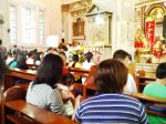 People inside Binondo Church